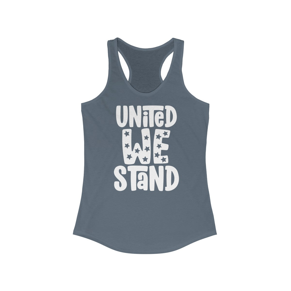 United We Stand Women's Ideal Racerback Tank