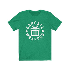 Gangsta Wrapper Unisex Jersey Short Sleeve Tee
