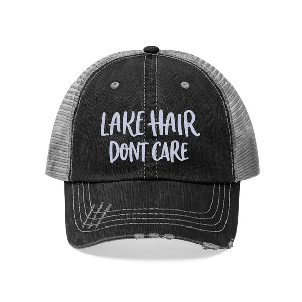 Lake Hair Don't Care Unisex Trucker Hat