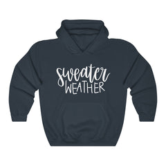 Sweater Weather Unisex Heavy Blend Hooded Sweatshirt