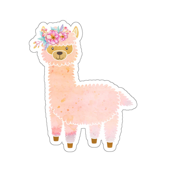 Llama Kiss-Cut Stickers