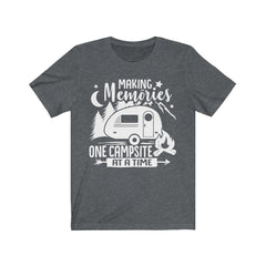 Making Memories One Campsite at a Time Unisex Jersey Short Sleeve Tee
