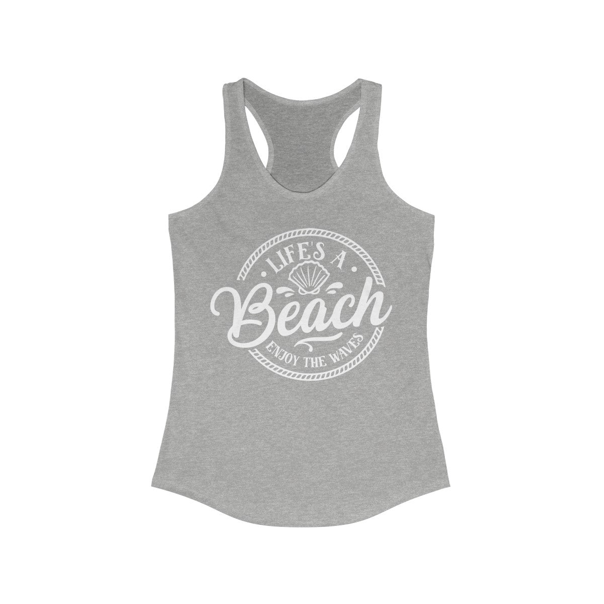 Lifes A Beach Women's Ideal Racerback Tank