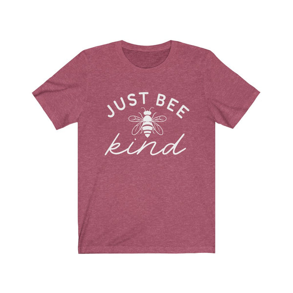 Just Bee Kind Unisex Jersey Short Sleeve Tee
