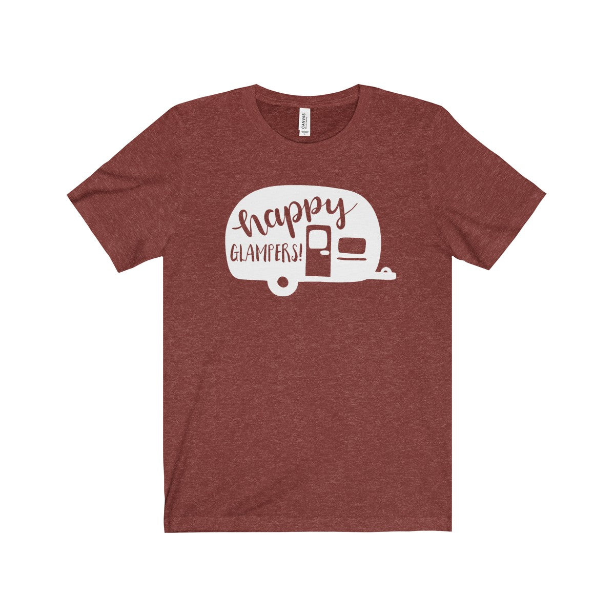 Happy Glampers Unisex Jersey Short Sleeve Tee
