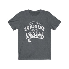Sunshine and Whiskey Unisex Jersey Short Sleeve Tee