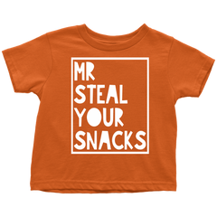 Mr Steal your Snacks Childrens Tshirt
