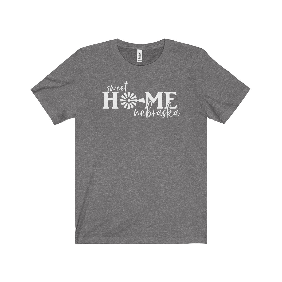 Sweet Home Nebraska Unisex Jersey Short Sleeve Tee