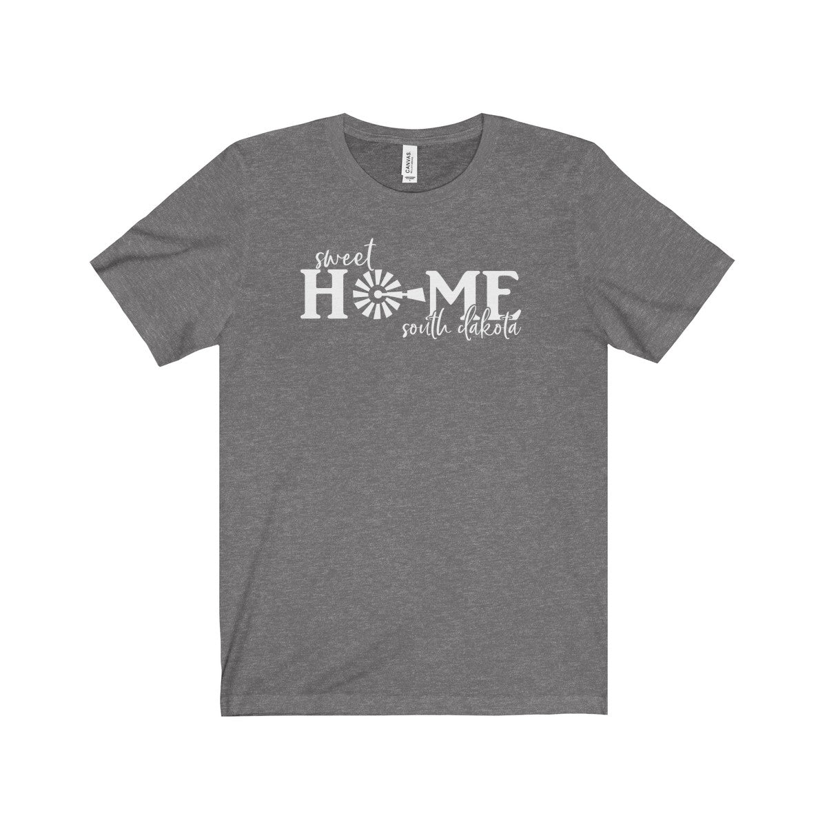 Sweet Home South Dakota Unisex Jersey Short Sleeve Tee