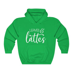 Leaves and Lattes Unisex Heavy Blend Hooded Sweatshirt