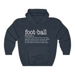 Definition of Football Unisex Heavy Blend Hooded Sweatshirt