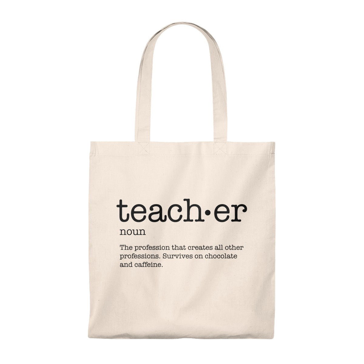 Definition of a Teacher Tote Bag - Vintage