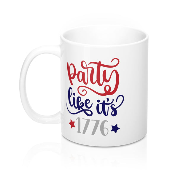 Party Like Its 1776 Mug 11oz