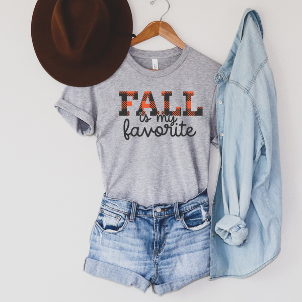 Fall is my Favorite Unisex Jersey Short Sleeve Tee