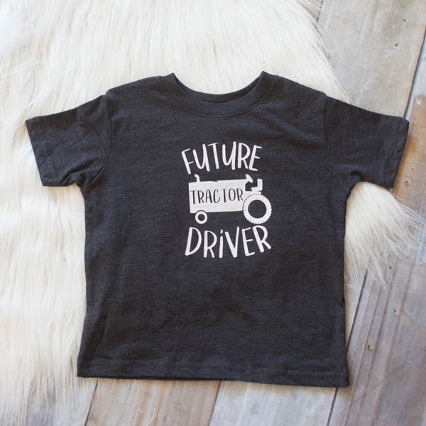 Future Tractor Driver Tee