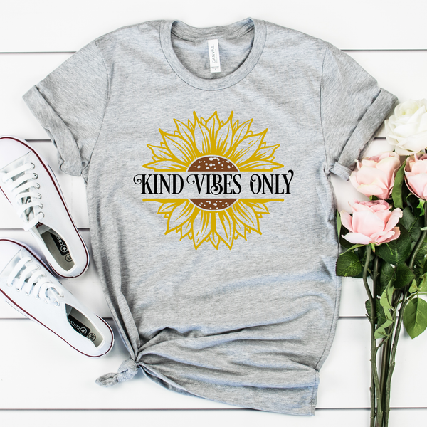 Kind Vibes Only Unisex Jersey Short Sleeve Tee