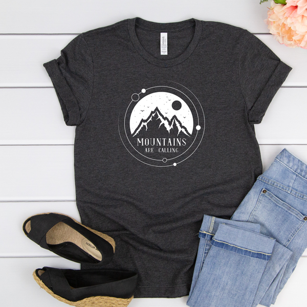 Mountains are Calling Unisex Jersey Short Sleeve Tee