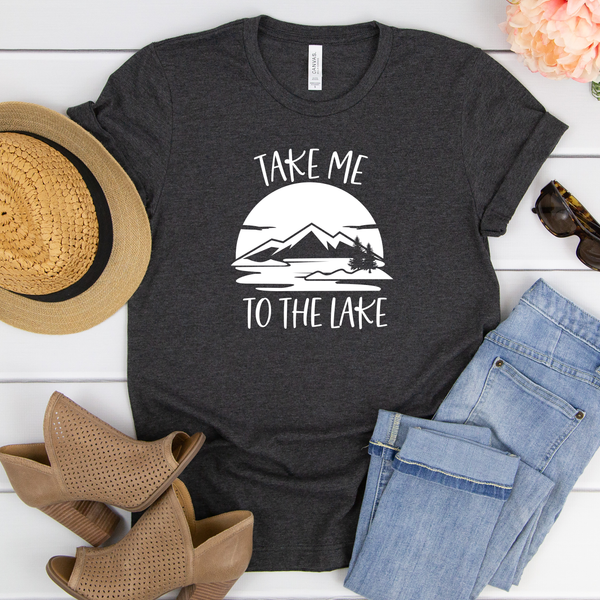 Take me to the Lake Unisex Jersey Short Sleeve Tee