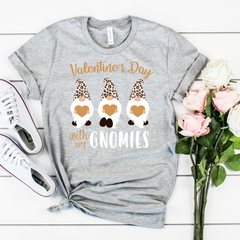 Valentines Day With My Homies Unisex Jersey Short Sleeve Tee
