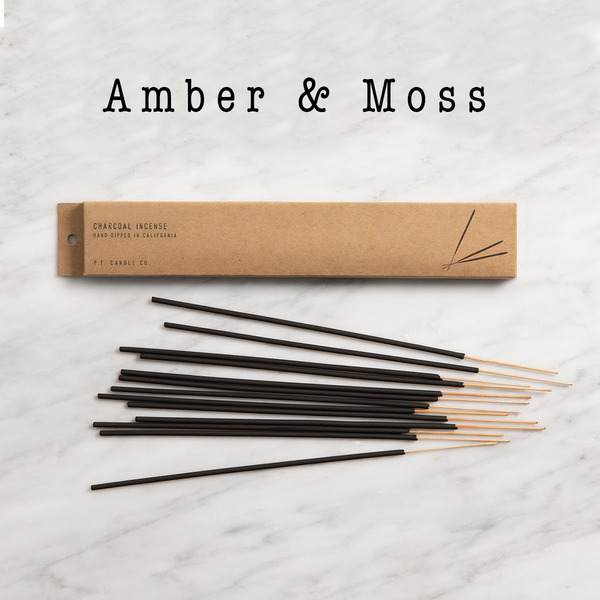 Amber & Moss Incense