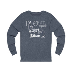 A Christmas Story Unisex Jersey Long Sleeve Tee