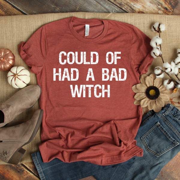 Could of Had a Bad Witch Unisex Jersey Short Sleeve Tee