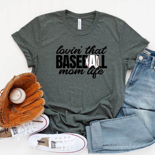 Lovin' that Baseball Life Unisex Jersey Short Sleeve Tee