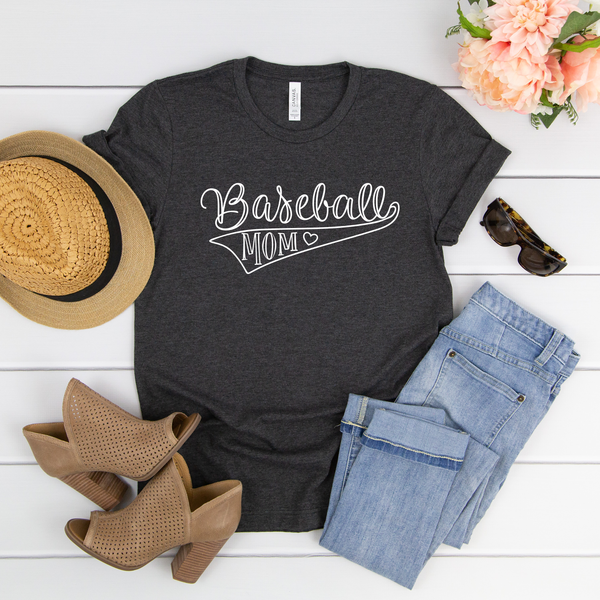 Baseball Mom Unisex Jersey Short Sleeve Tee