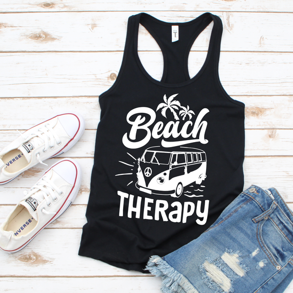 Beach Therapy Women's Ideal Racerback Tank