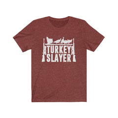 Turkey Slayer Unisex Jersey Short Sleeve Tee