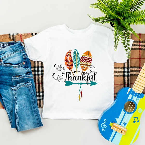Be Thankful Toddler Tee