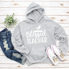 Blessed Teacher Unisex Heavy Blend Hooded Sweatshirt