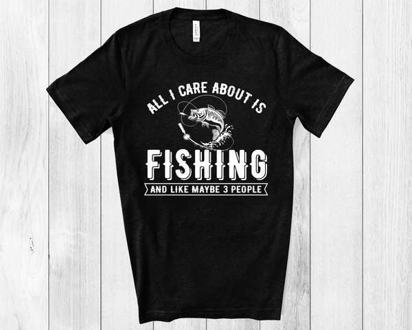 Fishing Unisex Jersey Short Sleeve Tee