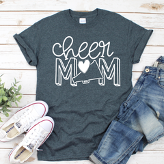 Cheer Mom Unisex Jersey Short Sleeve Tee