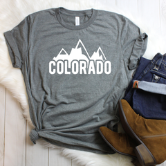 Colorado Unisex Jersey Short Sleeve Tee