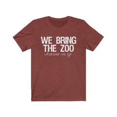 We Bring The Zoo Unisex Jersey Short Sleeve Tee