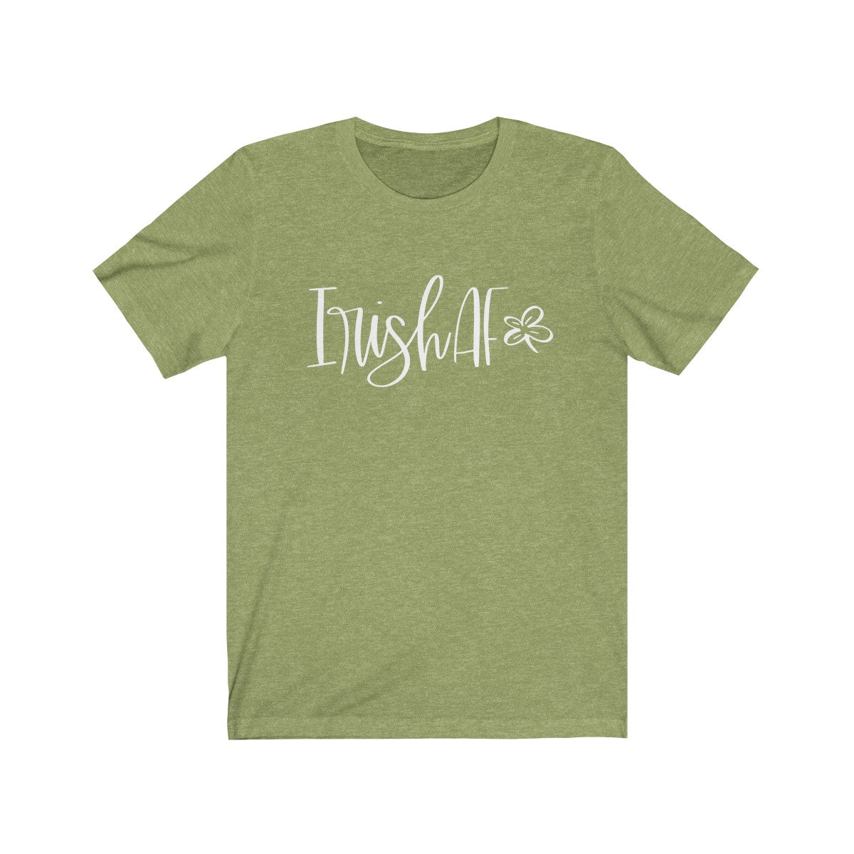 Irish AF Unisex Jersey Short Sleeve Tee
