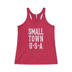 Small Town USA Triblend Tank Top