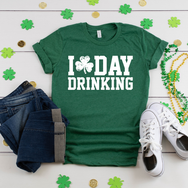 I Love Day Drinking Unisex Jersey Short Sleeve Tee