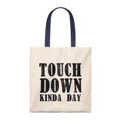 Touchdown Kinda Day Mom Tote Bag - Vintage
