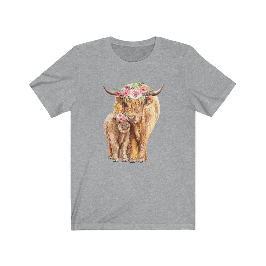 Cow Unisex Jersey Short Sleeve Tee