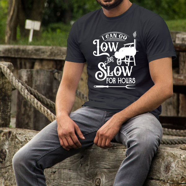I can go Low and Slow for Hours Unisex Jersey Short Sleeve Tee