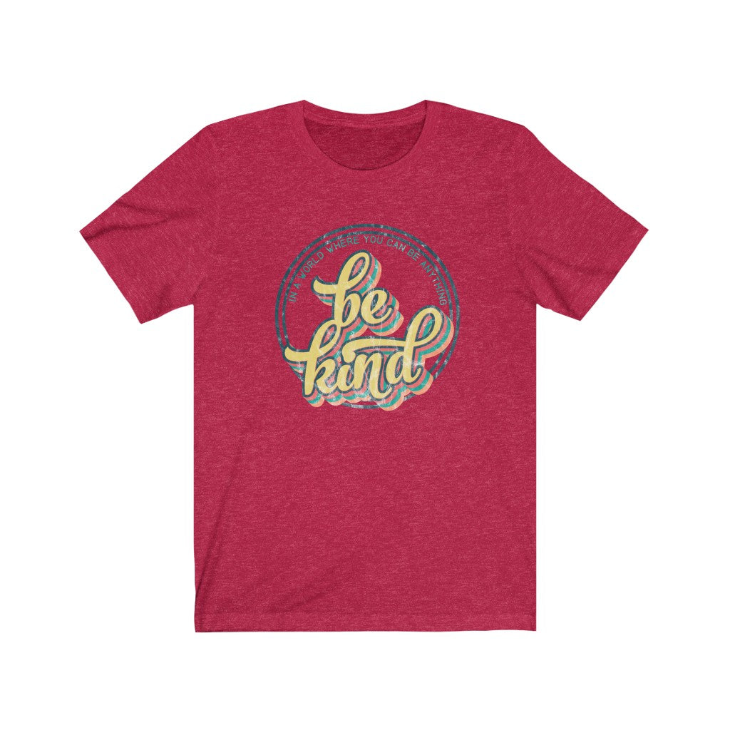 Be Kind Circle Unisex Jersey Short Sleeve Tee