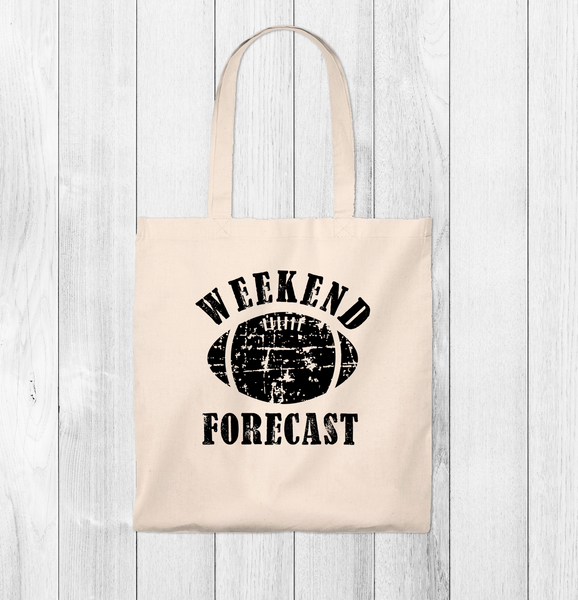 Weekend Forecast Mom Tote Bag - Vintage