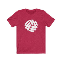 Distressed Volleyball Unisex Jersey Short Sleeve Tee