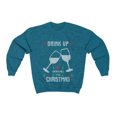 Drink Up Grinches Ugly Christmas Sweater