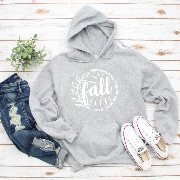 FALL Unisex Heavy Blend Hooded Sweatshirt