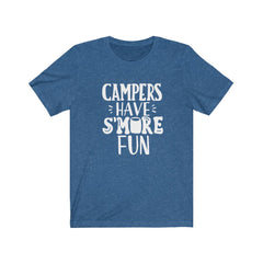 Campers Have Smore Fun Unisex Jersey Short Sleeve Tee