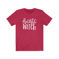 Basic Witch Unisex Jersey Short Sleeve Tee