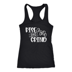 Rise and Grind Workout Tank Top